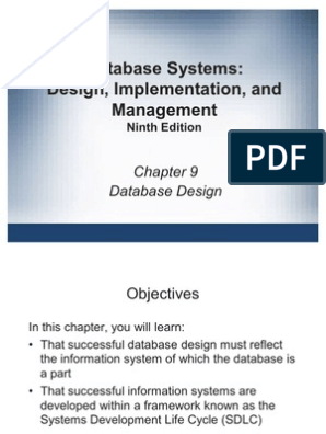 Ch9 Conceptual Model Databases
