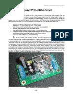 Speaker Protection Circuit