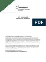Ap08 Calculus Ab Sgs