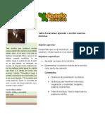 taller narrativa-PROYECTO 3º EDAD