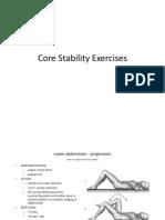 Core Stabiliry