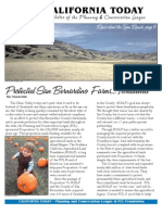December 2006 California Today, PLanning and Conservation League Newsletter