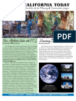 June 2007 California Today, PLanning and Conservation League Newsletter