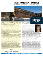 September 2007 California Today, PLanning and Conservation League Newsletter