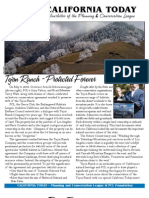 June 2008 California Today, PLanning and Conservation League Newsletter