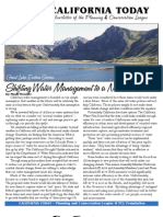 September 2008 California Today, PLanning and Conservation League Newsletter