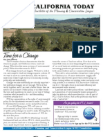 December 2008 California Today, PLanning and Conservation League Newsletter
