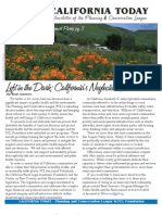 March 2009 California Today, PLanning and Conservation League Newsletter