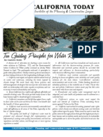 June 2009 California Today, PLanning and Conservation League Newsletter