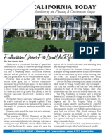 September 2009 California Today, PLanning and Conservation League Newsletter