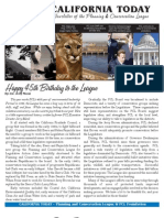 September 2010 California Today, PLanning and Conservation League Newsletter