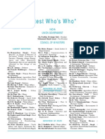 Latest Who's Who