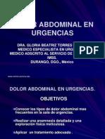 Dolor Abdominal 1
