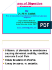 Gastritis, gastric ulcer and Gastric Rupture in monogastric animals by Ali sadiek