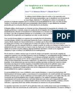 Recomendaciones y criterios terapéuticos en el tratamiento con la apitoxína de Apis mellifera