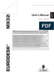 Eurodesk Mixer