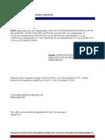 Estatuto Dos Servidores Civis de Pernambuco