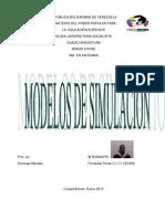 Formulación de modelos de simulación