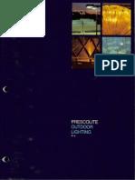Prescolite Outdoor Lighting P-4 1978