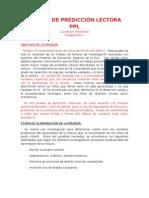 PPL-Prueba de predicción lectora (Luis Bravo V.)