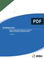 MTS-8000 Eng Modules User Manual