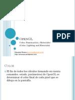 OpenGL - Color Iluminación y Materiales