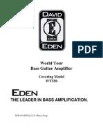 Eden WT550 Amp