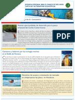Boletín No. 3 Programa Regional de USAID para el Manejo de Recursos Acuáticos y Alternativas Económicas.