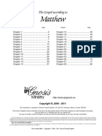 The Book of Matthew-  Looseleaf edition