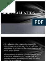 Job Evaluation Ppt.....