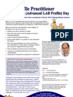 LAB Profile Practitioner Day 2008 2 Page