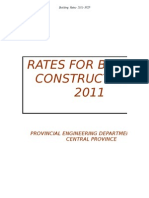 Copy of Rate Book - 2011-NCP Building Dpt