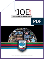 Joint Operating Environment  2010