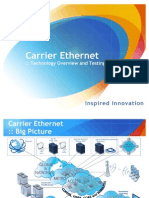 Carrier Ethernet Tech Overview
