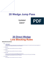 20 Wedge Jump Pass