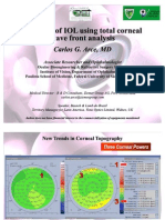 IOL Selection Using Total Cornea WF