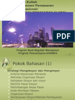 Strategi Pemasaran Global