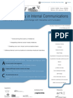 Leading the way in Internal Communication