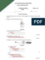 PAT 2011 -Sc P2 T1 A4 Answer