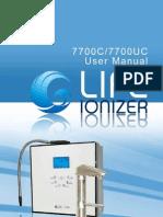 LIFE 7700 User Manual