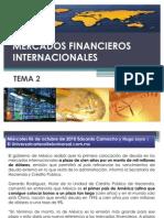 MERCADOS FINANCIEROS INTERNACIONALES
