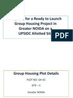 UPSIDC Project Proposal (Greater Noida) - Grand Aashiyana