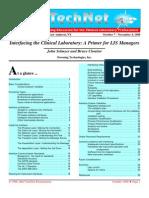Interfacing Clinical Laboratory