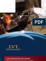 LVT Kitchen Fire Suppression Brochure December 2011