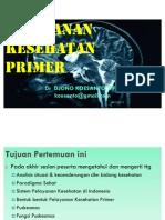Pelayanan Kesehatan Primer