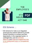 Employee State Insurance Act, 1948