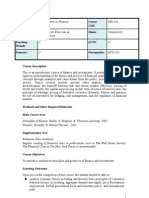 Introcuction to Finance - Handouts