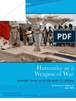 Humanity as Weapon of War