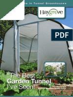 Haygrove Garden Polytunnels Brochure 2011