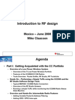 Techday - Introduction to RF Design